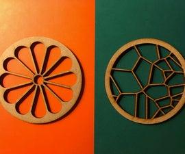 Flower and Voronoi Coaster