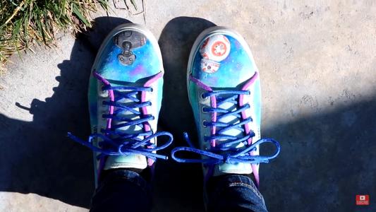 DIY Starwars Shoes