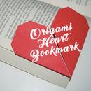 Origami Heart Bookmark