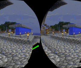 Virtual Reality Minecraft 1.8 with Google Cardboard