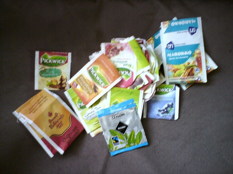 Picture of Swap: my tea envelopes for ... surprise me!