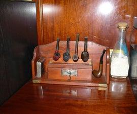 Soporte expositor de pipas - stand or exhibitor tobacco pipes