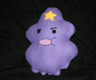 Lumpy Space Princess Pillow (Adventure Time)