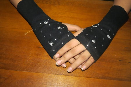 Starry Galaxy Glove