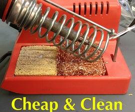 DIY Solder Tip Cleaner