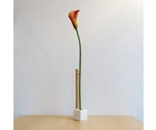 Minimalist Concrete Vase