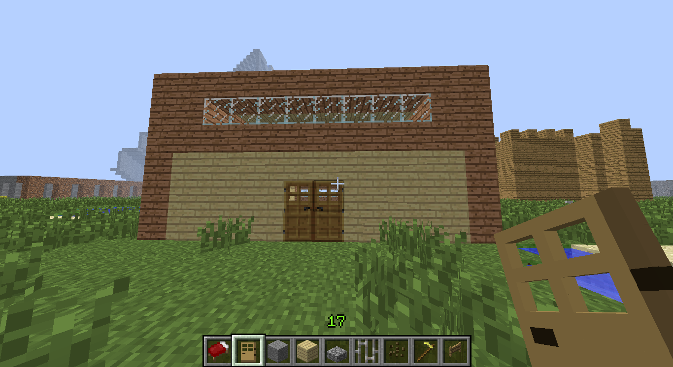 Picture of Newbie to Profession Version of Minecraft House