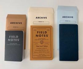 Field Notes Archival Envelopes
