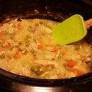 """""""Crock Pot"""" Chicken Pot Pie"""
