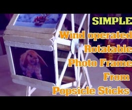 Wind operated Rotary Photo frame_ SIMPLE