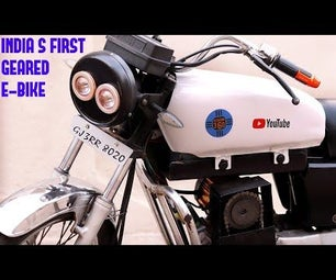 How to Make Geared Electric Bike