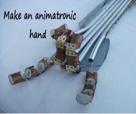 How To Make an Animatronic Hand