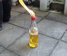 Coke Bottle Fire Torch