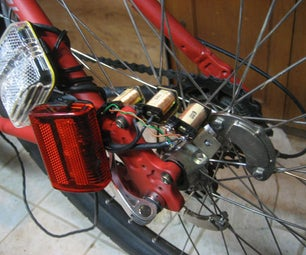 Contactless Dynamo Powering Bike Safety Lights