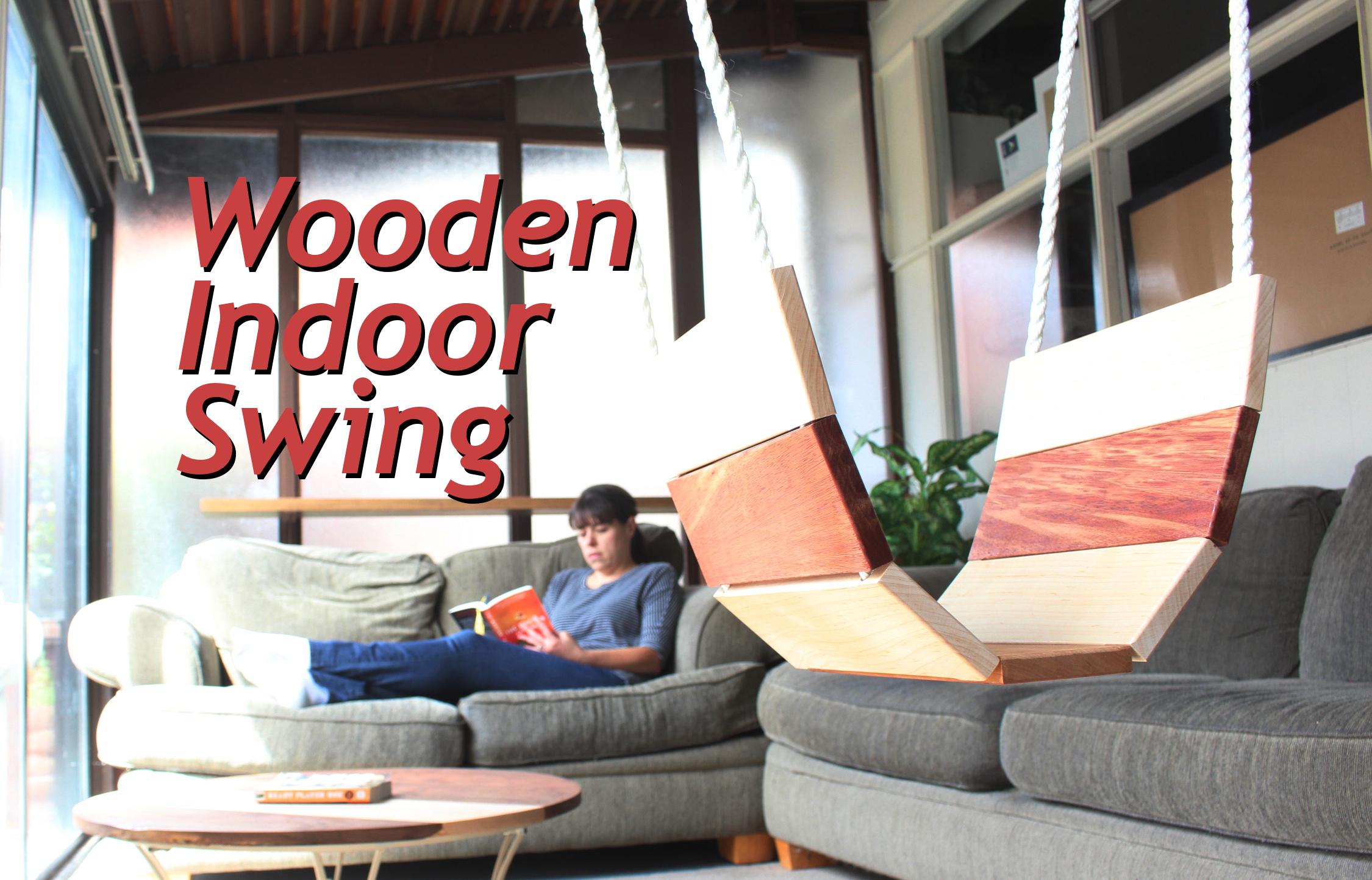 Picture of Wooden Indoor Swing
