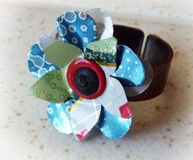 Pop Can Flower Rings