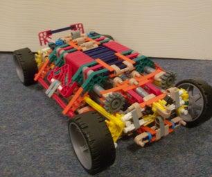 Knex Gyro System Car Updated.