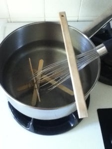 Bending the Popsicle Sticks