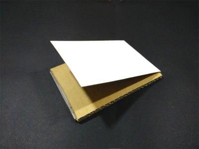 Cut the Corrugated Cardboard