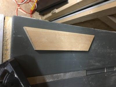 Making the Sliding Top Shelf