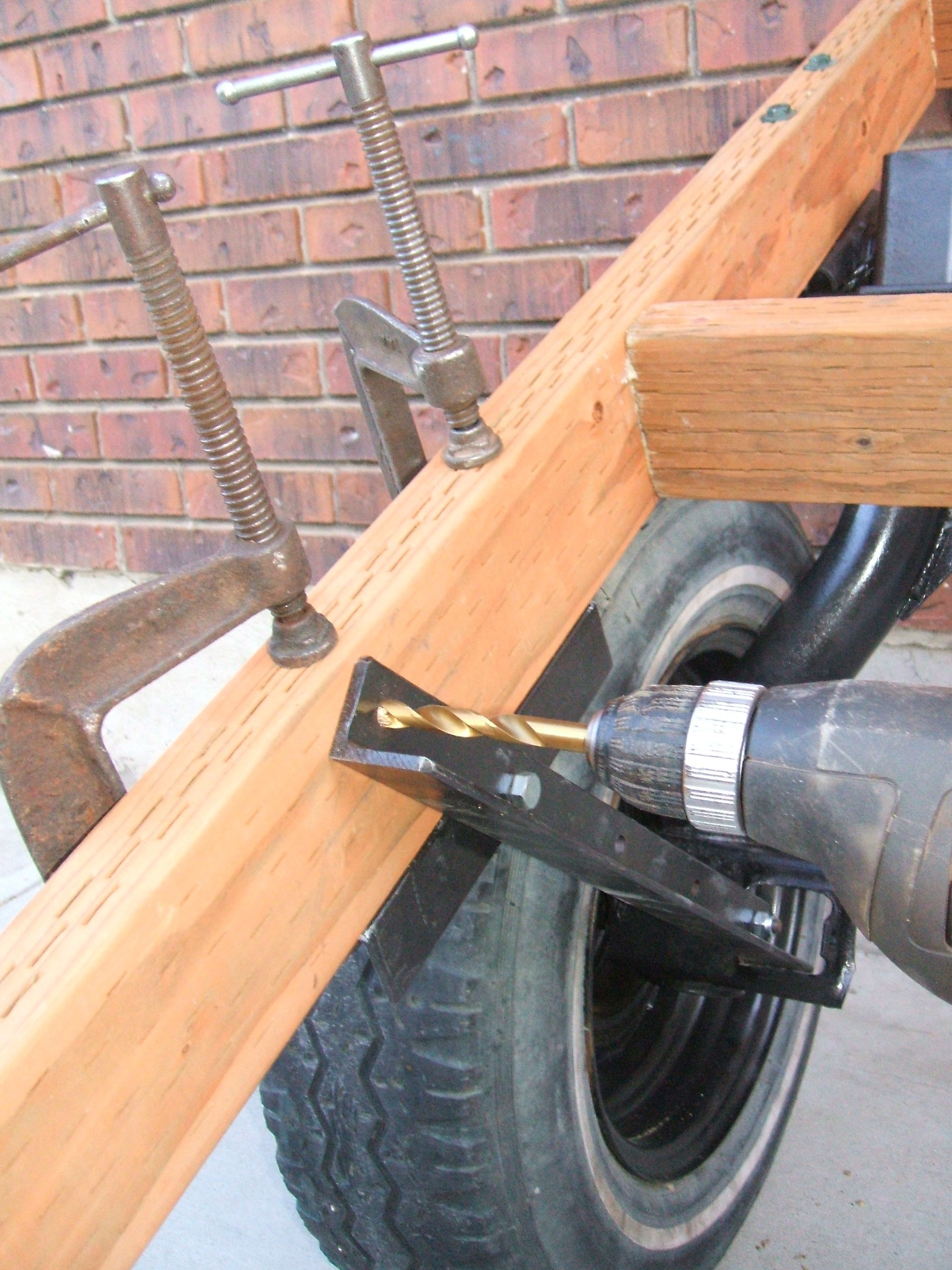 Picture of Drill Holes for Front Support