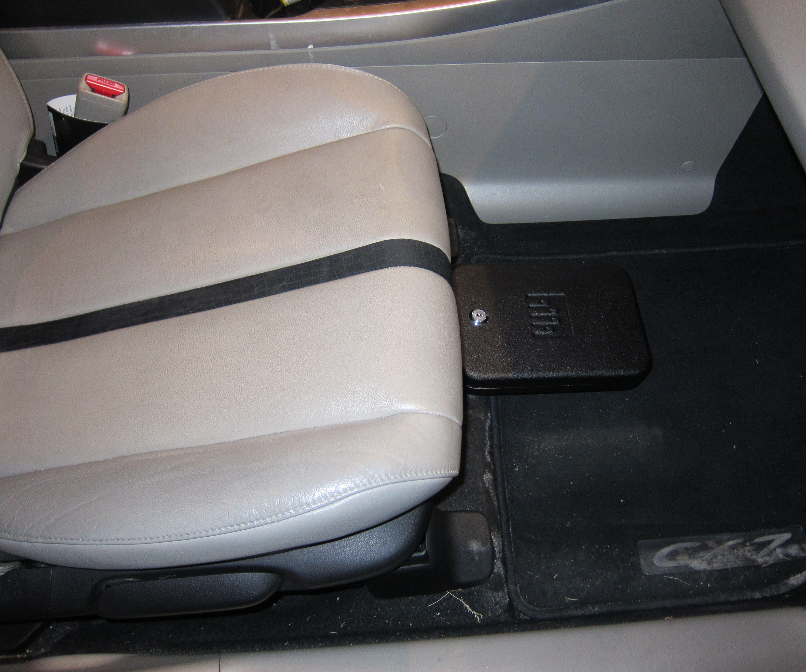 Hidden Sliding Vehicle Lock Box : 12 Steps (with Pictures) - Instructables