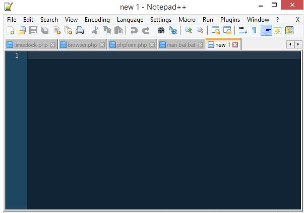 Picture of Open Your Text Editor