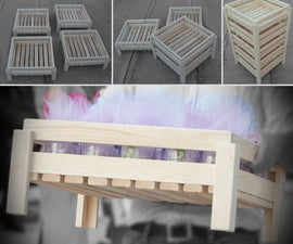 Simple Modern Wooden Crates/Storage Boxes - [Easy to Stack]