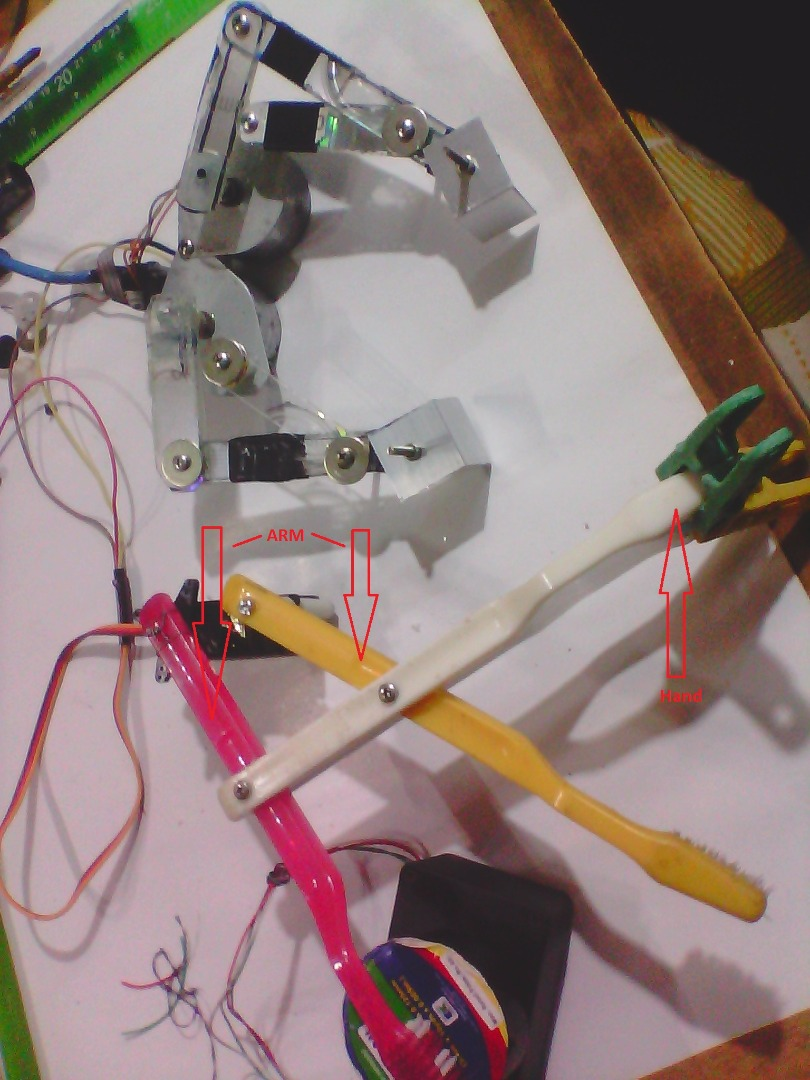 Picture of Low-cost ROBOT Gripper Hand