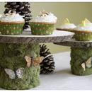 DIY: Woodland Cakestands