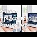 Screen Replacement in Photoshop