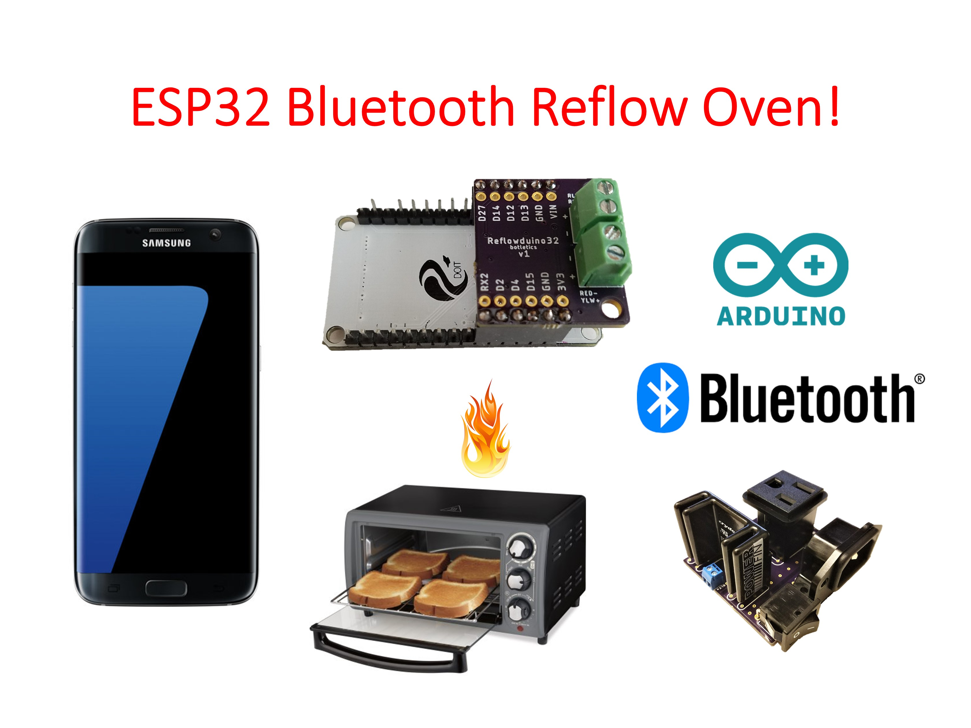 Picture of ESP32 Bluetooth Reflow Oven