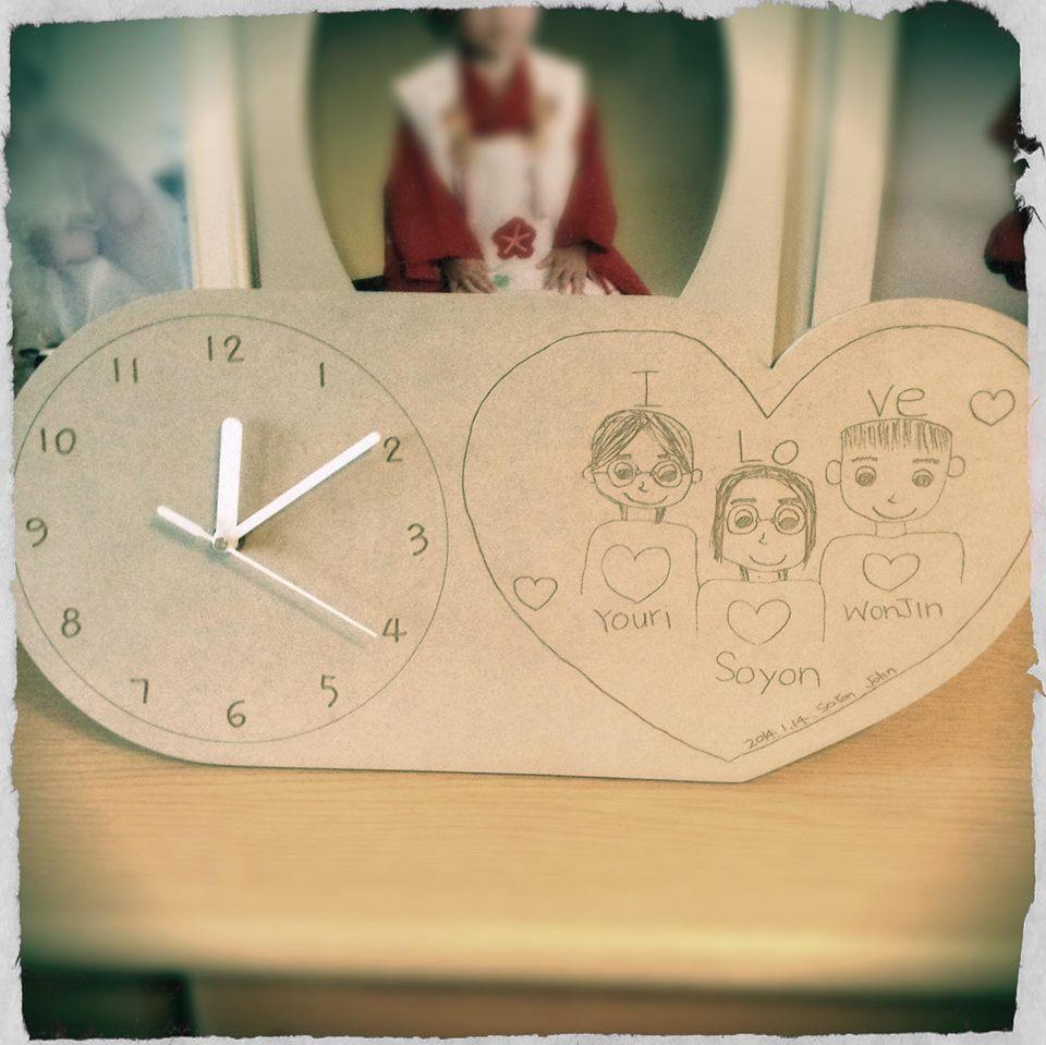 Picture of 家族の愛たっぷりの時計