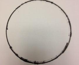 Make Shift Compass for Drawing Circles