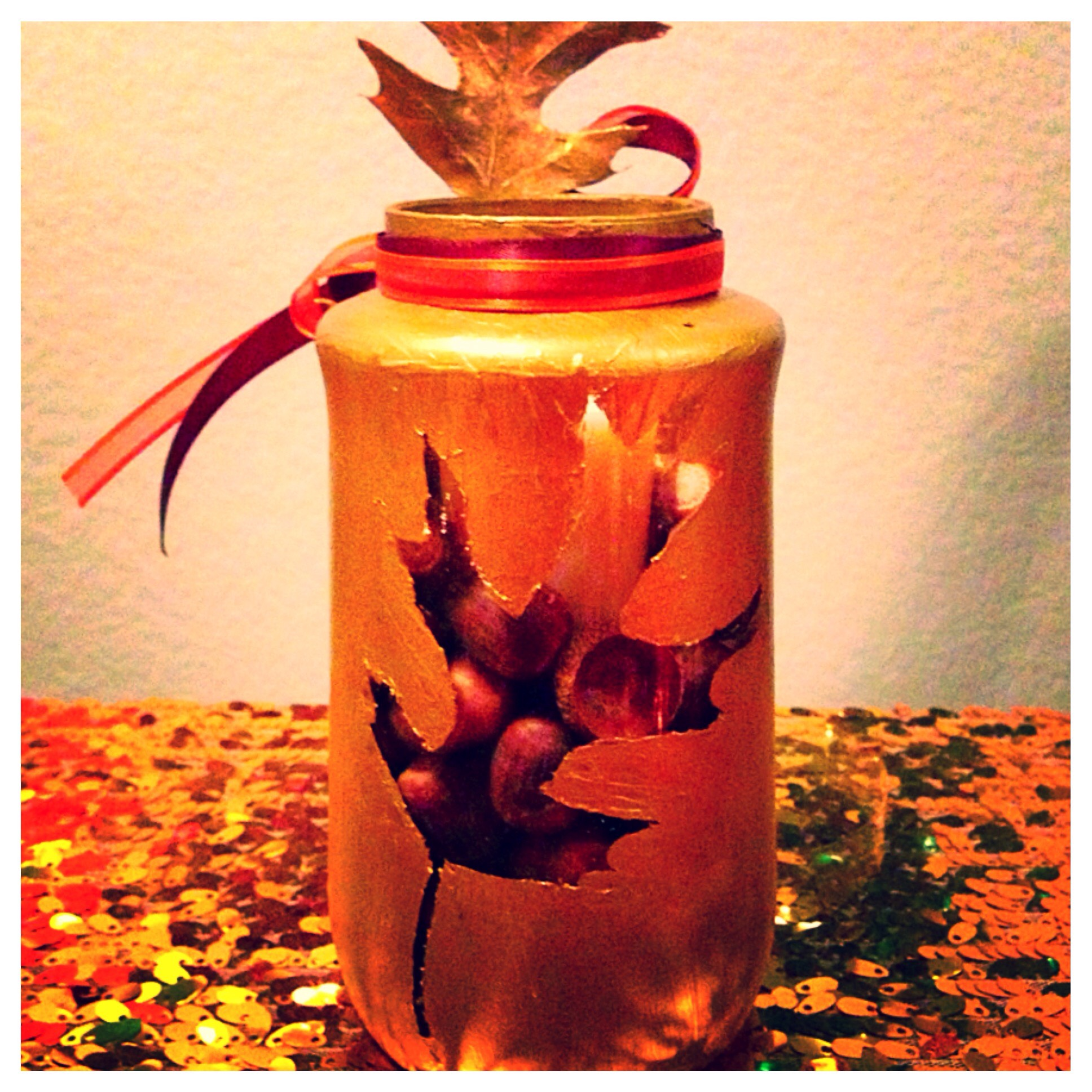 Picture of Upcycle Thanksgiving Candle