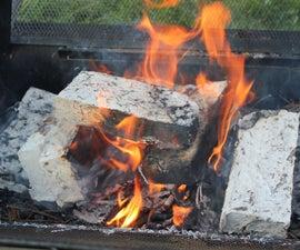 Fire Briquette Burn Tests