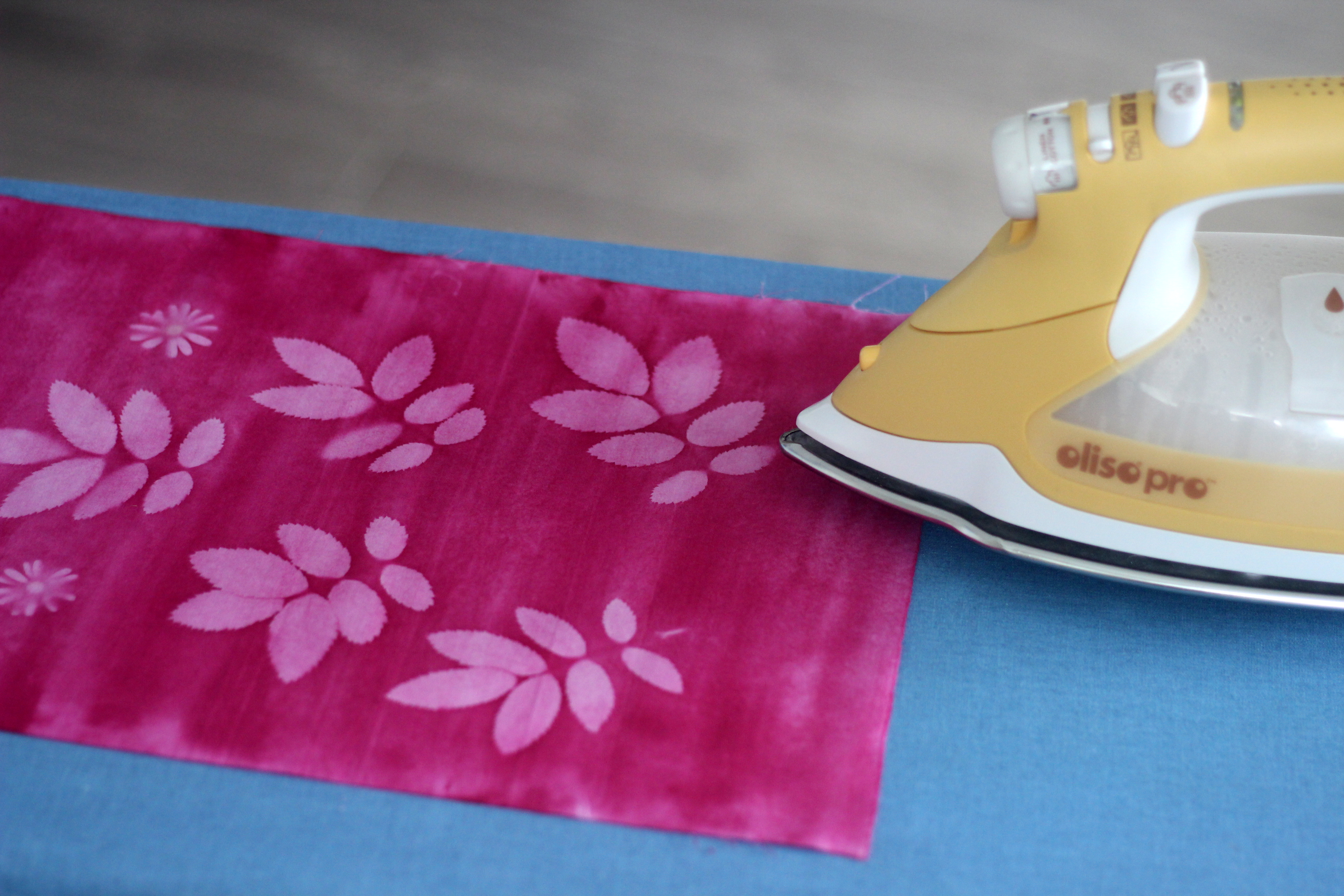 Picture of Heat Set by Ironing