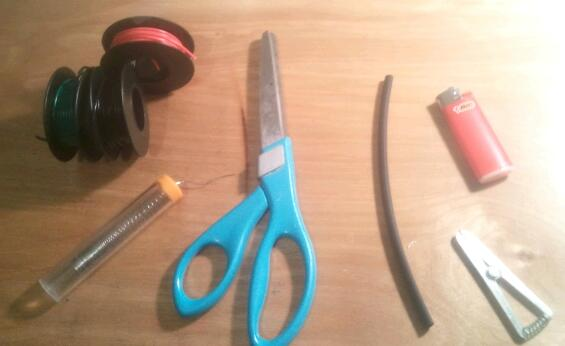 Picture of Tools and Supplies Need for Installation