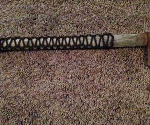 Paracord Handle for Tomahawk