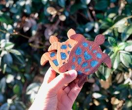 Wood & Resin Turtles