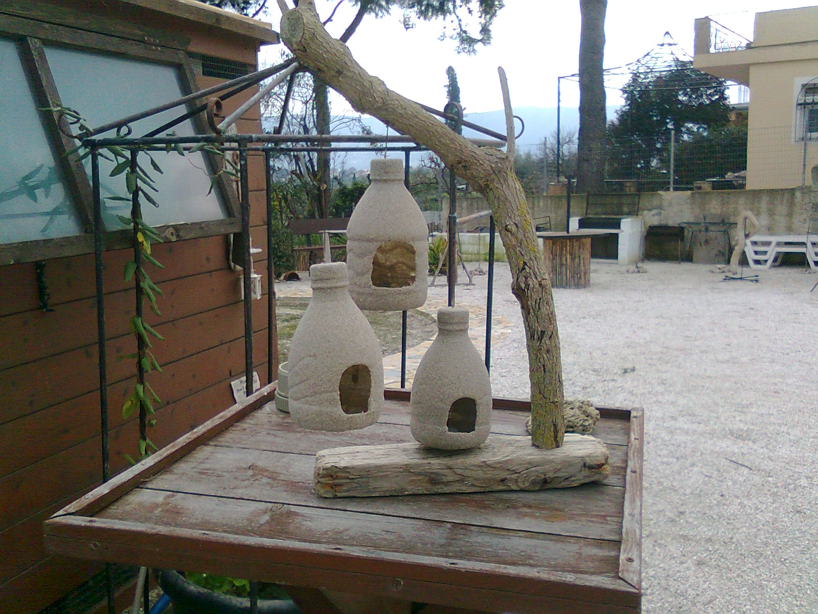 Picture of Plastic Bottle Bird Feeders