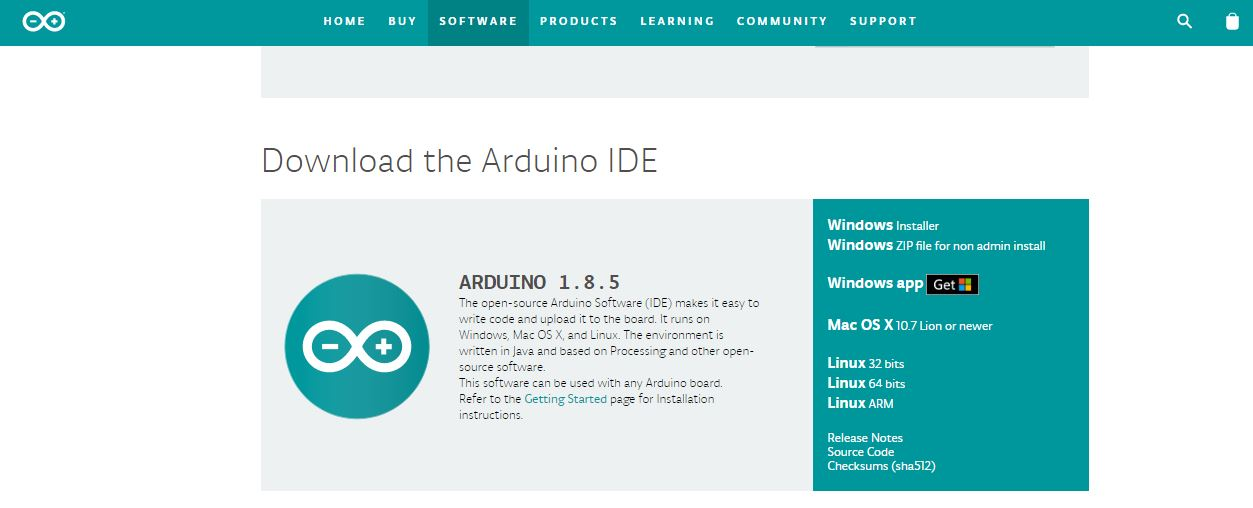 Picture of  Installing the Arduino Software