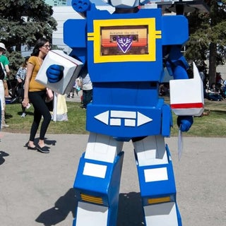 Transformers Soundwave Costume