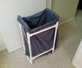 PVC Pipe Frame Laundry Hamper