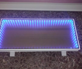 Infinity mirror coffee table!