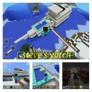 minecraft- steve's yatch