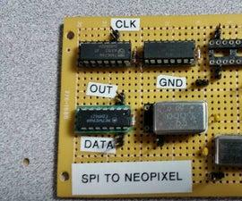 SPI to Neopixel Converter