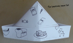 Picture of The Happiness Paper Hat