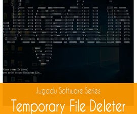 Temporary File Deleter using Notepad.