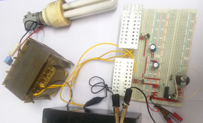Picture of How to Build 100 Watt 12v DC to 220v AC Inverter Circuit Using EasyEDA